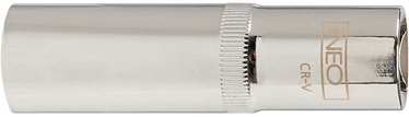 """NEO Long Socket Cr-V 1/2"""" 22mm"""