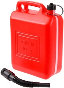 Verners Fuel Can Red 10l