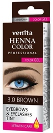 Venita Henna Eyelashes and Eyebrow Color 15g 1.0 Black