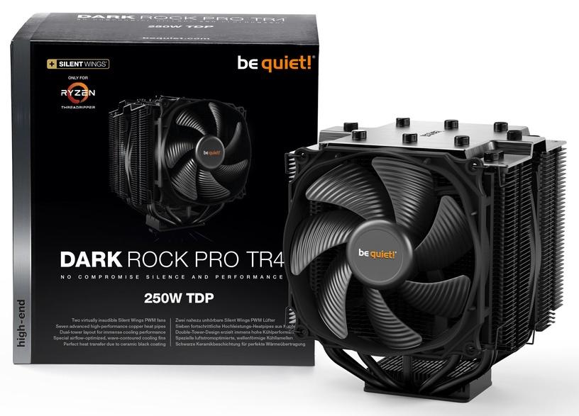 Be Quiet! CPU Cooler Dark Rock Pro TR4 Black