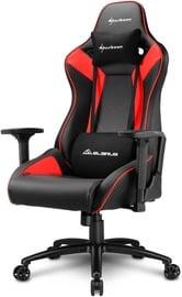 Spēļu krēsls Sharkoon Elbrus 3 Black/Red