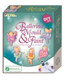 Творческий набор Color Time Ballerina Mould & Paint 525022160