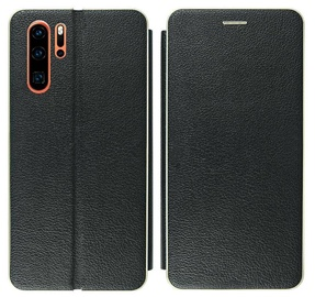 Mocco Frame Book Case For Huawei P30 Black