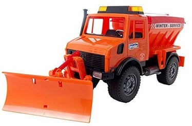 Bruder MB-Unimog Winter Service With Snow Plough 02572