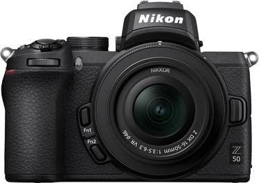 Nikon Z50 + Nikkor Z DX 16-50mm f / 3.5-6.3 VR
