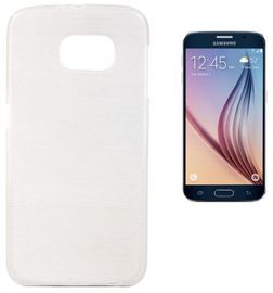 Forcell Jelly Brush Back Case For Samsung G920 Galaxy S6 White