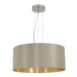 Eglo Maserlo 31607 Ceiling Lamp Gold 3x60W E27