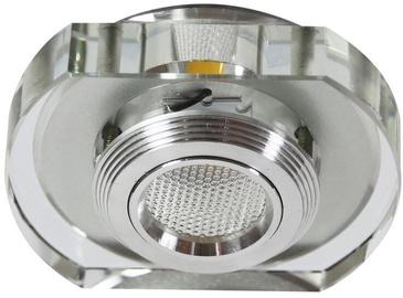 Светильник Candellux SS-34 AL/TR, 3Вт, 3000°К, серебристый