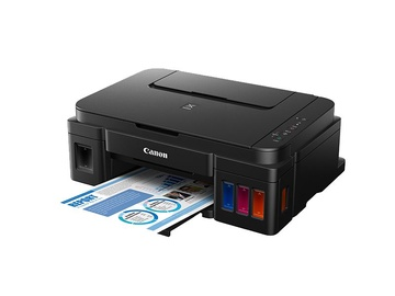 Daudzfunkciju printeris Canon Pixma G2501, tintes, krāsains