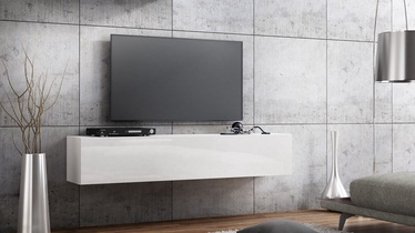 TV galds Pro Meble Milano Wall 160 White, 1600x320x300 mm