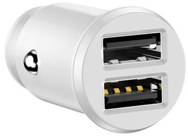 Devia Smart Series Dual USB Car Chager White