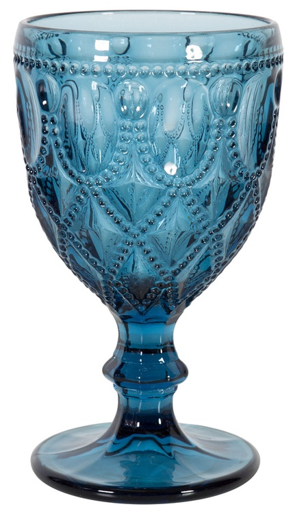 Home4you Wine Goblet Genova 300ml Blue