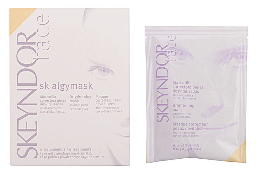 Sejas maska Skeyndor Face Sk Algymask Brightening Mask 6 Treatments