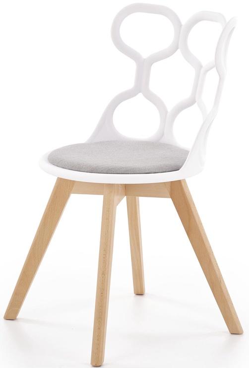 Ēdamistabas krēsls Halmar K308 Grey/White, 1 gab.
