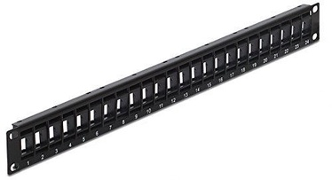 Delock Keystone Patch Panel 19-inch 24-Port
