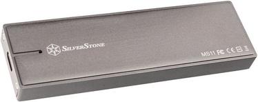 SilverStone MS11C External M.2 PCIe NVMe SSD Housing Charcoal