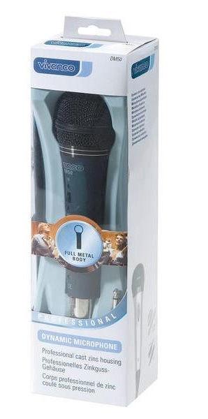 Vivanco DM50 Dynamic Microphone Mono Black