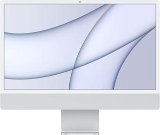 "Стационарный компьютер Apple iMac / MGPD3ZE/A / 24"" Retina 4.5K / M1 8-Core GPU / 8GB RAM / 512GB Silver LT"