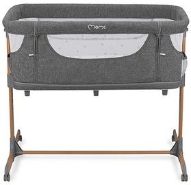 Детская кроватка Momi Smart Bed, серый