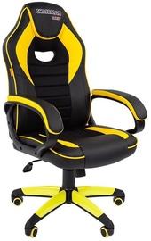 Spēļu krēsls Chairman Game 16, melna/dzeltena