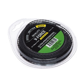 Victa V-Force Trimmer Line 1.6mm 15m Ellipse Twist Black
