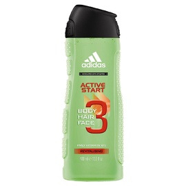 Dušas želeja Adidas Active Start, 400 ml