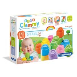 Конструктор Clementoni Baby Clemmy 12 Soft Block Set 14706
