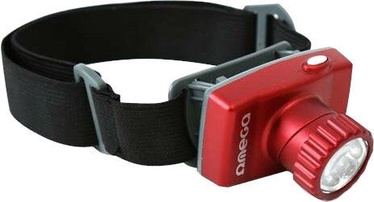 Omega OHL8 Universal Head Torch Red
