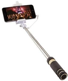 LogiLink Mini Selfie Stick Monopod Black
