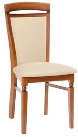 Ēdamistabas krēsls Black Red White Natalia Beige/Brown