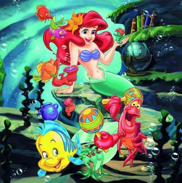 Puzle Ravensburger Disney Princesses 093397, 3x49 gab.