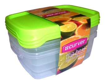 Curver The Best Food Containers 3x1.2l