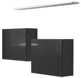 ASM Switch SB I Hanging Cabinet/Shelf Set Graphite/White Matt