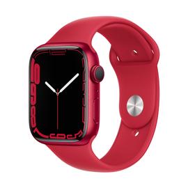 Viedais pulkstenis Apple Watch Series 7 GPS 45mm Aluminum, sarkana