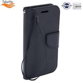 TakeMe Fancy Diary Bookstand Case Xiaomi Redmi 7 Black