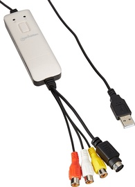 Audio un video kodētājs Manhattan 162579 USB Audio/Video Grabber
