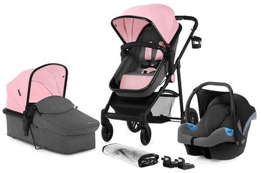 Универсальная коляска KinderKraft Juli 3in1 Pink (поврежденная упаковка)