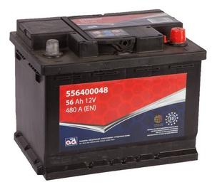 AD Baltic 556400048 Starter Battery 56Ah