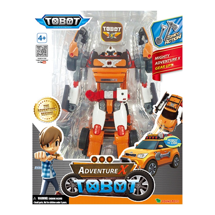 Young Toys Adventure X Tobot