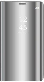 Mocco Clear View Case For Xiaomi Redmi 9 Silver
