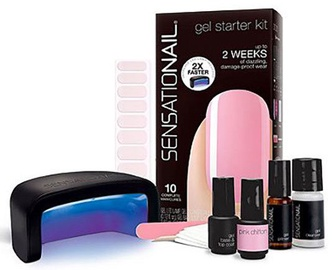 Sensationail Gel Starter Kit Pink Chiffon