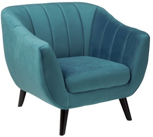 Atzveltnes krēsls Signal Meble Elite Velvet 1 Turquoise, 83x68x91 cm