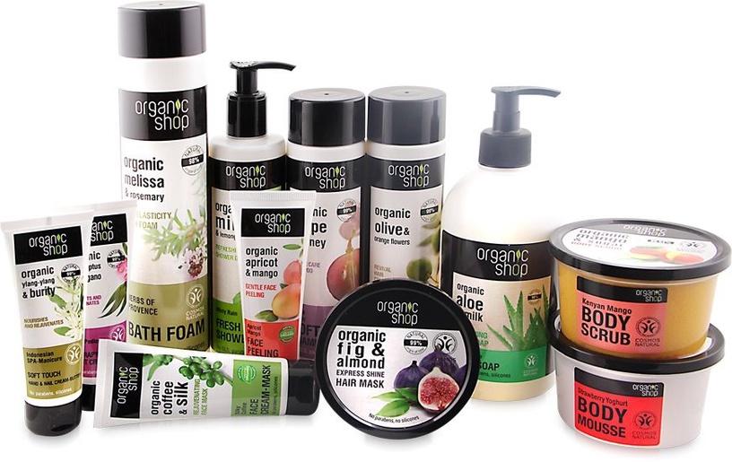 Organic Shop Body Cream Japanese Camellia 250ml