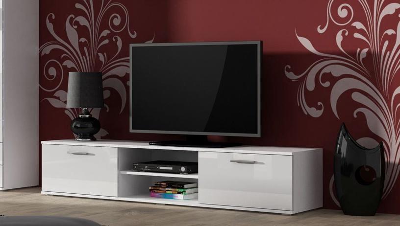 ТВ стол Cama Meble Soho 180, белый, 1800x430x370 мм