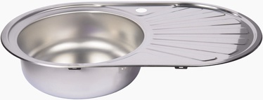 Diana Kitchen Sink with Siphon Left 740x450mm