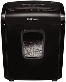 Fellowes Powershred 6M Mini-Cut Shredder Black