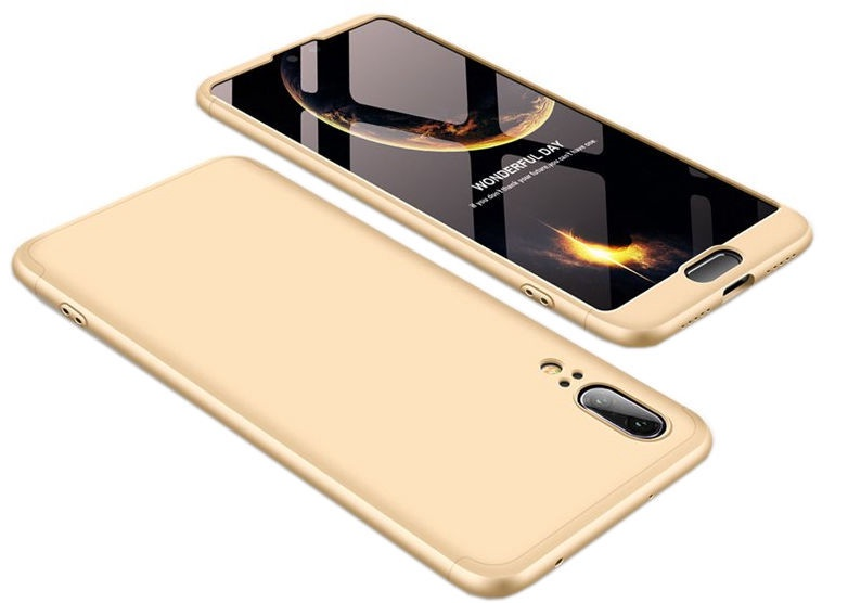 Hurtel 360 Protection Full Body Cover For Huawei P20 Gold