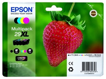 Epson Cartridge 4-colour 29XL 30.5 ml