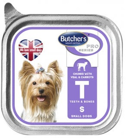 Butchers WAD Pro Series With Veal & Carrot 150g