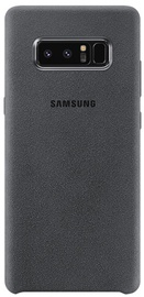 Samsung Alcantara Back Cover For Samsung Galaxy Note 8 Grey